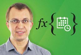 Funkce datum a čas v Excel