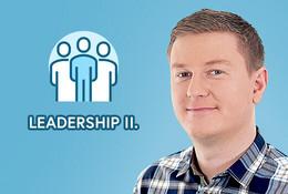 Leadership II: Jak vést úspěšně tým?